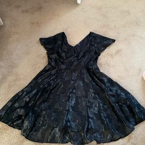 Torrid dress size 14 only been tried on black lace